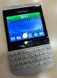 صورة الأولى Brand New Original BlackBerry Porsche Design P9981 unlocked