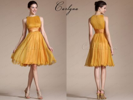 Carlyna 2014 New Sleeveless Short Dress Cocktail Dress
