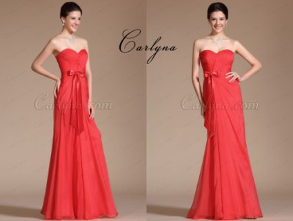 صور Carlyna Strapless Sweetheart Bridesmaid Dress 1