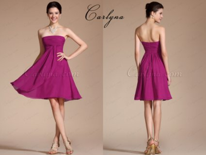 Carlyna  Lovely Strapless Party Dresses