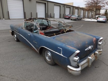 1955 Buick century Convertible project car