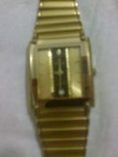 اSWISTAR 22K GOLD ELECTROPLATED SWISS QUARTAZ NO9570M 99/04-99 3