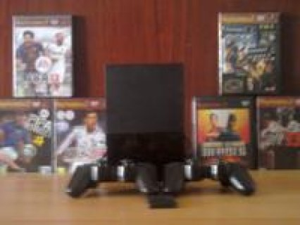 Playstation2 + 2 joystick + memory+ 6 games