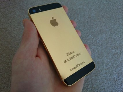 24 carat Blackberry Porsche Design, 24 Carat Apple iPhone 5s