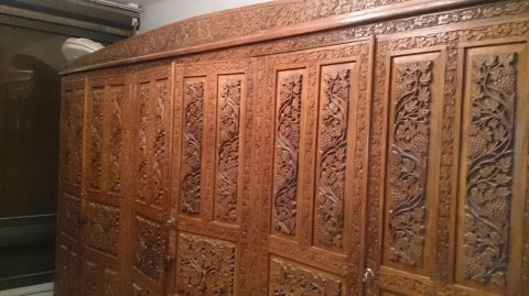 صور Unique Pakistani hand made luxurious wooden Bedroom  1