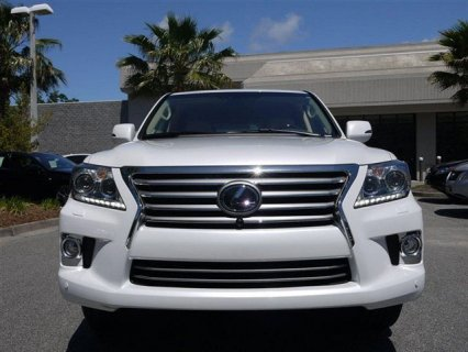 Selling My Used 2013 Lexus LX 570 White Full Option