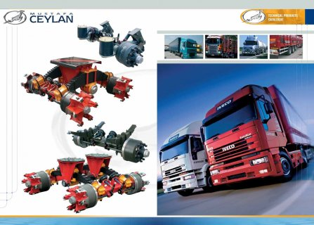 trailer axles manufacturing صناعة محاور المقطورات
