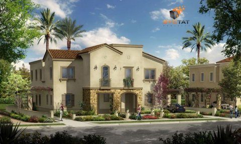 Twin house in Mivida Emaar parcel 16 landscape view for sale