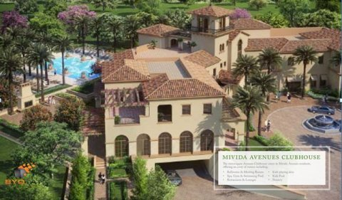 صور $Twin house in Mivida Emaar parcel 16 landscape view for sale 3
