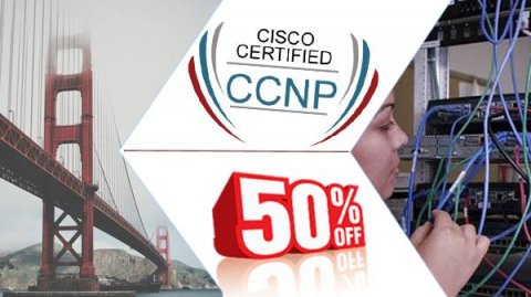 "خصم 50% على كورس ""CCNP \""Cisco Certified Network Professional"