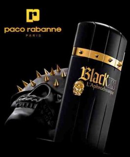 Black XS L\'Exces Homme for Men by Paco Rabanne