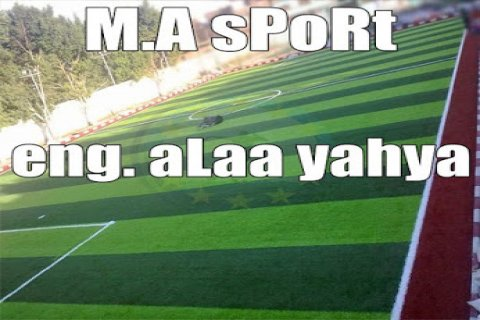 """M.A SpoRt for industrial and grass landscaping\""""\""""-*--/*"""