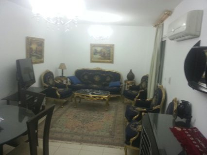 Furnished apartment for rent in madinty city