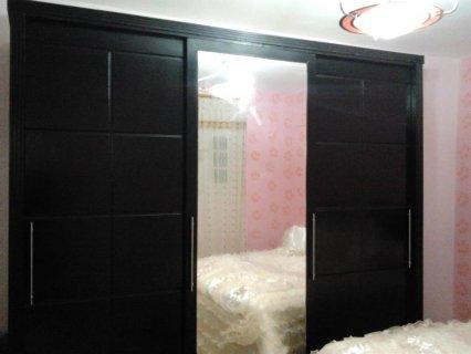 غرفة نوم مودرن.