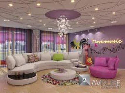 شقة 120م هاي لوكس ارضيات رخام بالنزهة الجديدة