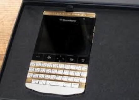 For sale:Gold BlackBerry Porsche Design P9981 With Arabic