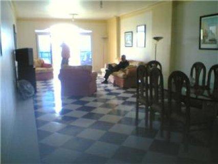 شقة مفروشة علبحر مباشرة بسيدي بشر بالصور 01223367978