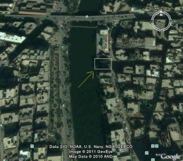 شبين الكوم على النيل مباشره ملاصقة لنادى المعلمين