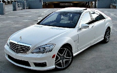 2011 Mercedes-Benz S63 AMG Designo Deep White