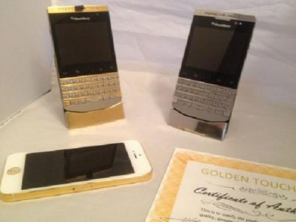Brand New Blackberry porsche Design P9981 Black Gold