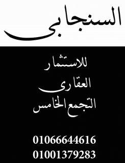 التجمع الخامس ابو الهول دبل فيس  بحري حديقه