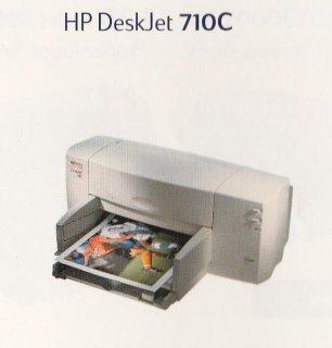 طابعة HP DeskJet 710 C بحالة الجديدة