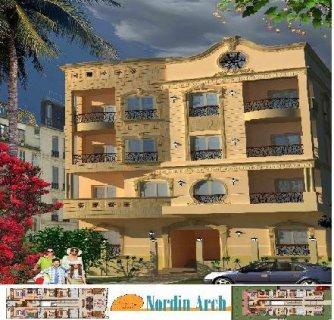 شقة 155م بمدينة الشروق امام مدينتى