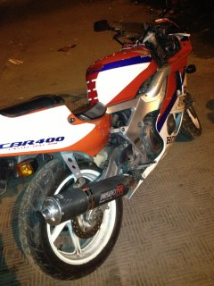 HonDa 400 FiRe