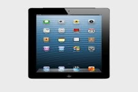 Ipad 4 black color wifi + cellular