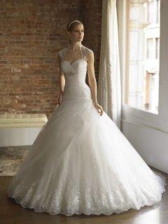 فستان زفاف تركي مميز