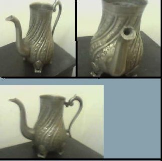 لهواة الانتيكات الفضية ابريق قديم من الفضة للبيع