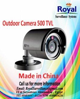كاميرات مراقبة خارجية 500TVL