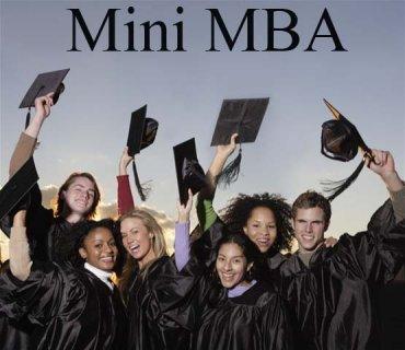 المنحة المدعمة ماجستير ادارة اعمال المهنى Mini MBA