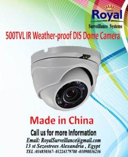 كاميرات مراقبة 500TVL  مضادة للعوامل الجوية