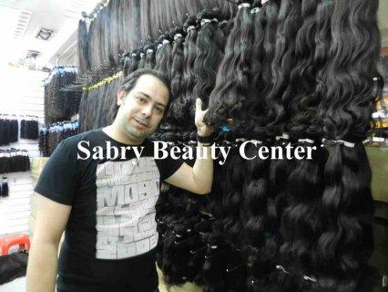 تركيب الشعر الطبيعى بالجمله للكوافيرات باسعار مغريه