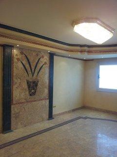 شقة للبيع بمكرم عبيد مدينة نصر 280م متشطبة سوبر لوكس