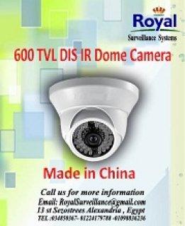 كاميرات مراقبة داخلية 600TVL  ذات رؤية ليلية