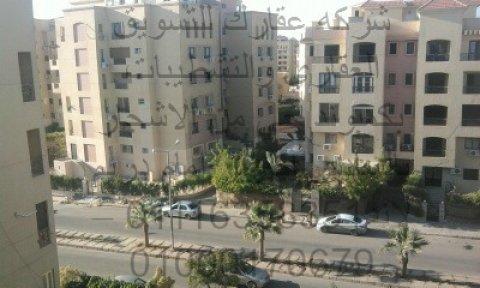 شقه للايجــــــــــــار قانون جديد 117 م  بكمبوند حي الاشجار