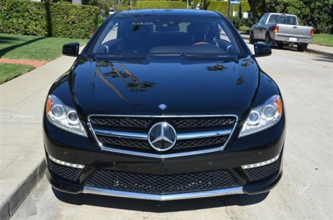 2012 Mercedes-Benz CL 65 Coupe Black leather