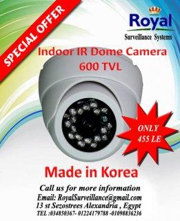 تخفيضات خاصة جدا على كاميرات المراقبة الكورية الداخلية ذات الرؤي