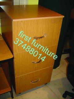 شانون خشبي أربع أدراج لحفظ الملفات، متوفر بأكثر من لون وحجم