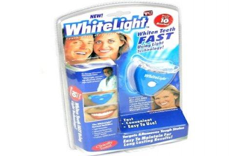 جهاز تبييض الاسنان بالليزر المنزلى وايت لايت  فقـط بسعر 50 جنية