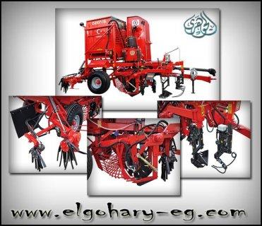 ماكينة حصاد البنجر