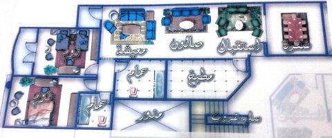 شقة متميزة 170 متر  بأرقى مناطق بورسعيد