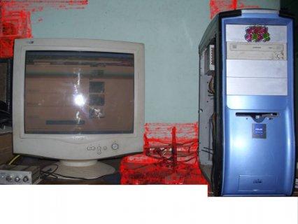 للبيع جهاز كمبيوتر كامل وبمواصفات ممتازه لتشغيل الالعاب والبرامج