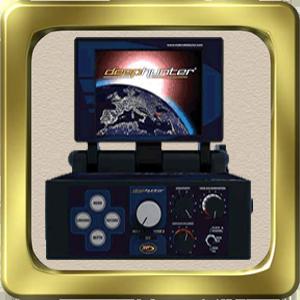 جهاز Deep Hunter Pro بالنظام التصويري لكشف المعادن والذهب