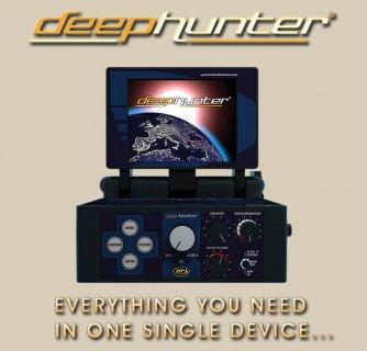 جهاز deep  hunter pro 2013  تصويري لكشف المعادن والفراغات