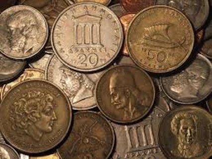 لهواة الآثار والتاريخ خمسون عملة معدنية أوربية تمثل منتصف القرن