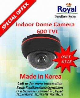 تخفيضات خاصة جدا على كاميرات المراقبة الكورية الداخلية 600 TVL