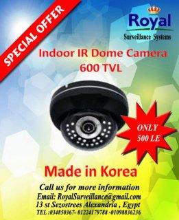 خصومات خاصة جدا على كاميرات المراقبة الكورية الداخلية ذات الرؤية